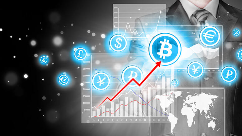 Fluctuations in prices for Bitcoin