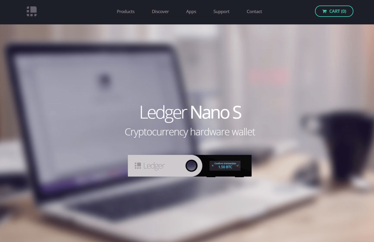 Buy Ledger Nano S wallet