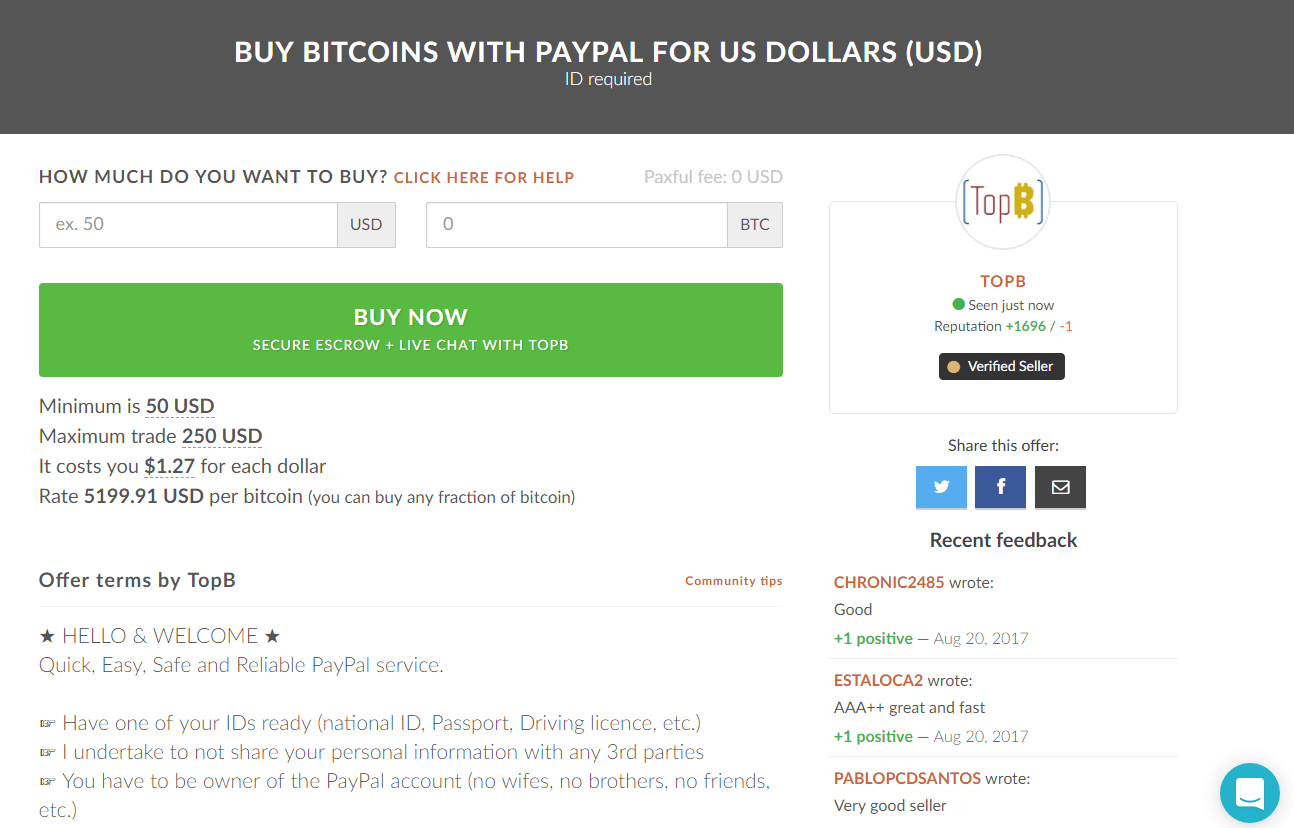 Buying bitcoins with paypal exchanges reviews bitcoinbestbuy buy bitcoin with paypal through cryptonit online ccuart