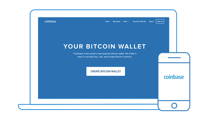 Coinbase offers wallet services