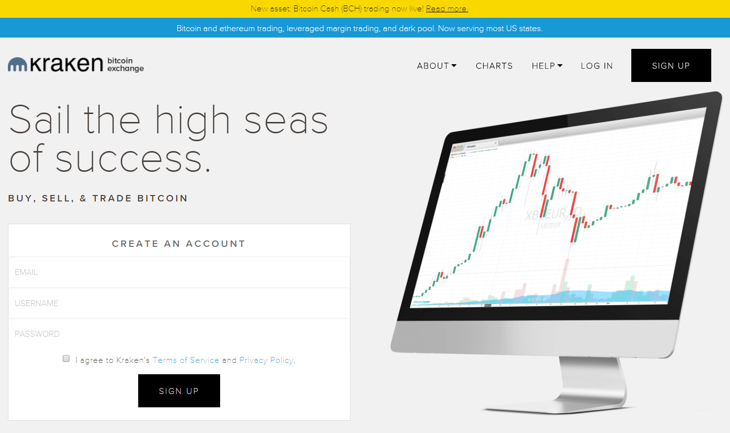 Get bitcoins with SEPA via Kraken