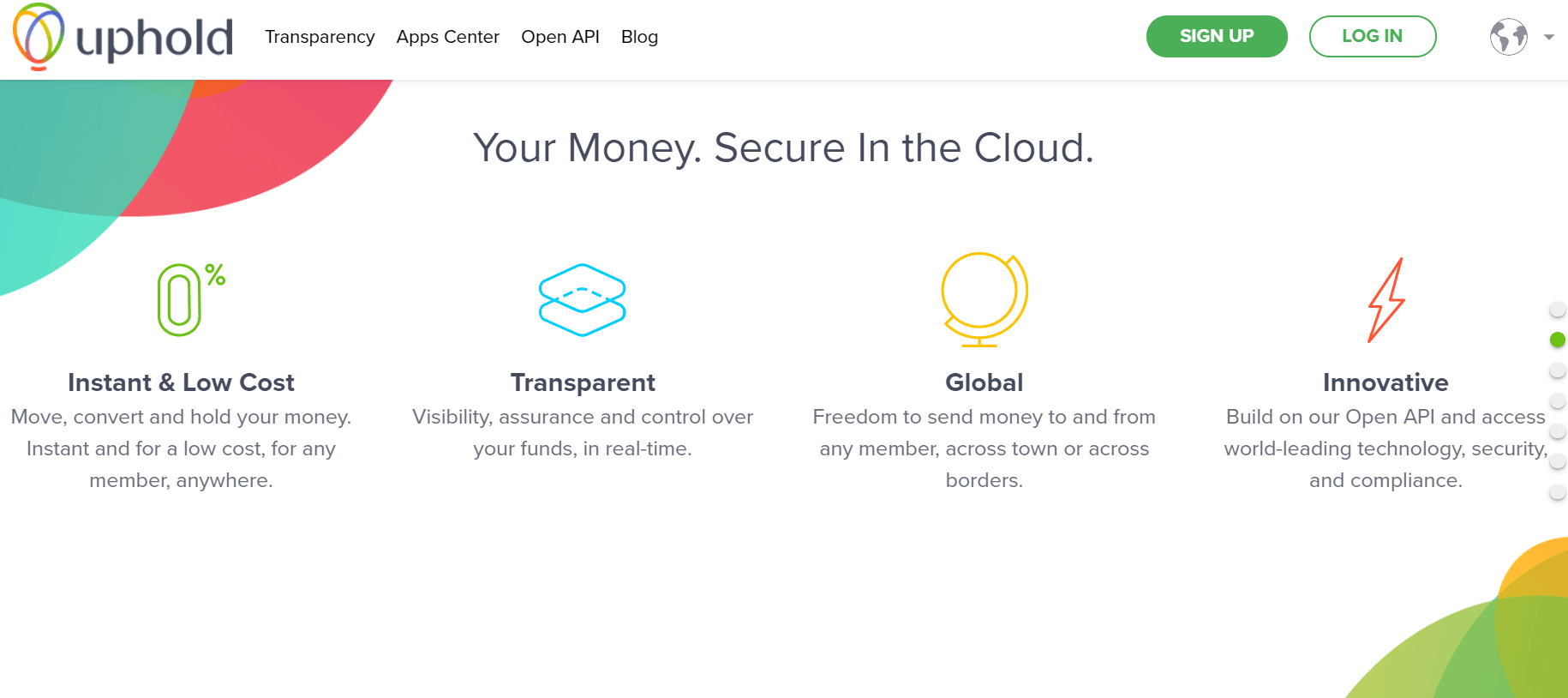 Order bitcoin with ACH transfer on Uphold