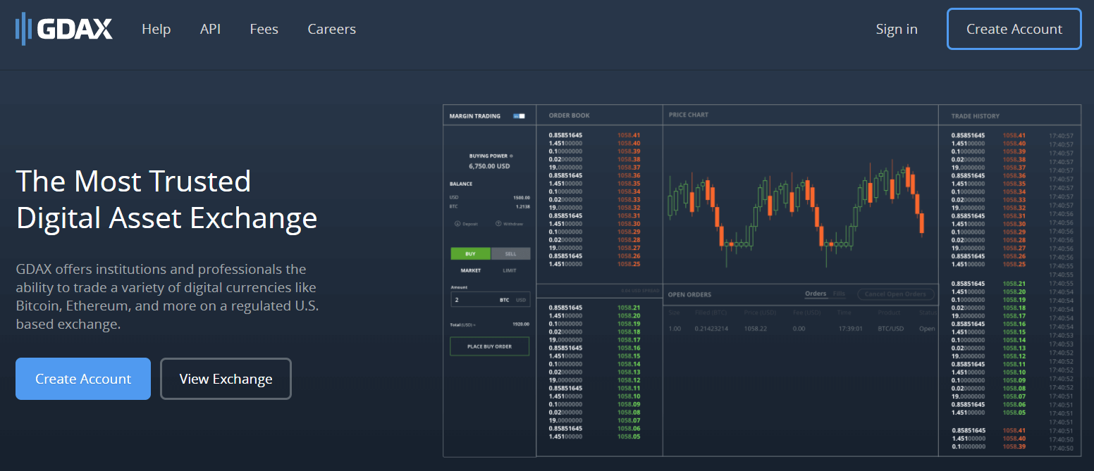 Purchase BTC with ACH via GDAX