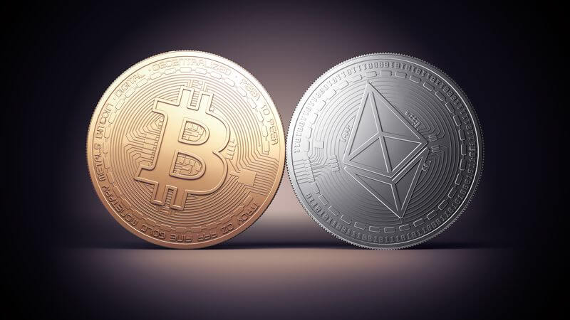 BTC and Ethereum support