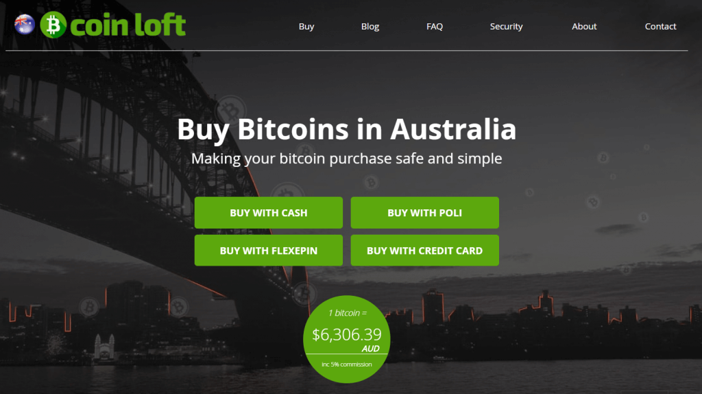 Buy and sell bitcoin at CoinLoft