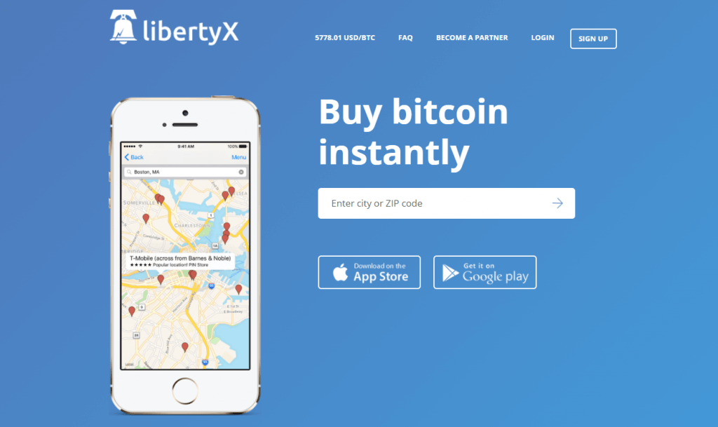 Buy BTC at LibertyX