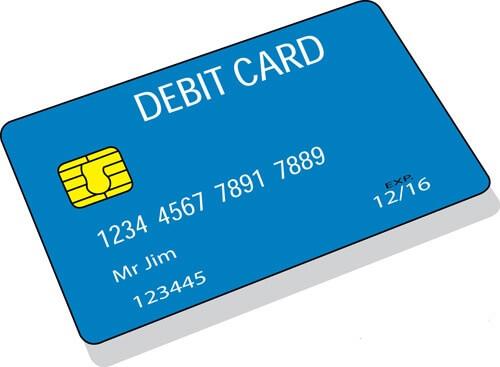 Buy BTC with debit card