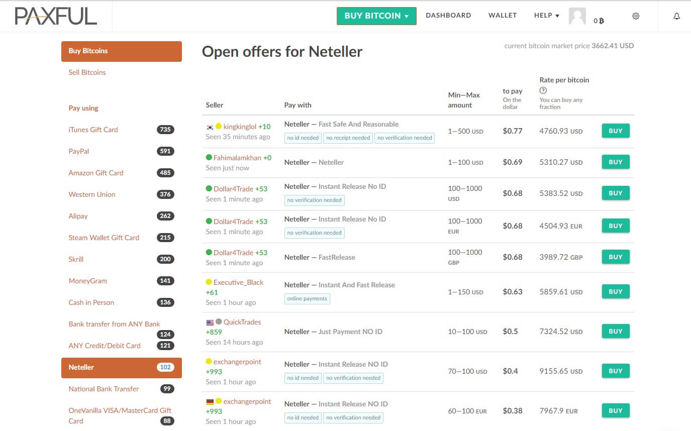 How to Buy Bitcoin Using Neteller: List of the Best Exchanges