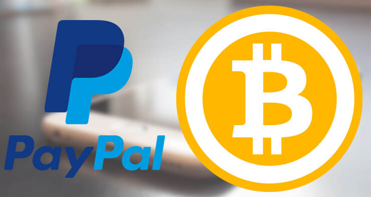Buy BTC with PayPal