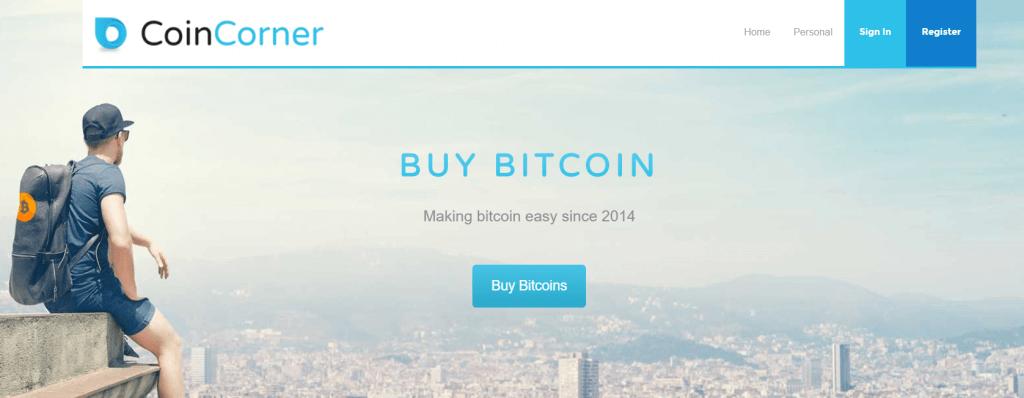 CoinCorner bitcoin exchange
