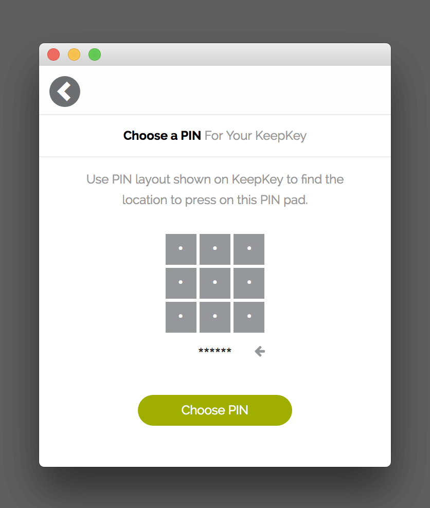 Create your own PIN code