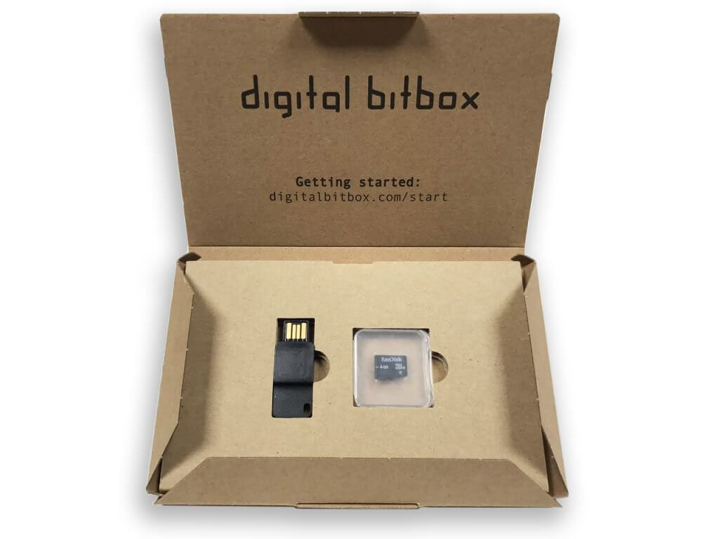 Digital Bitbox in the box