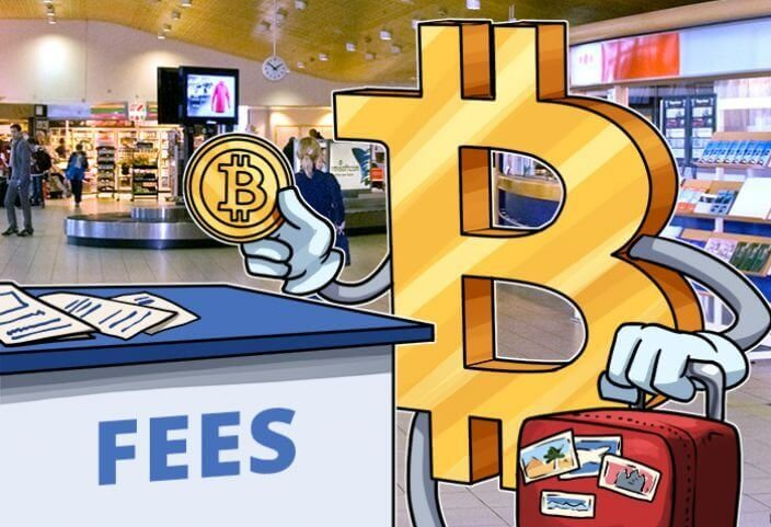 Fees for bitcoins