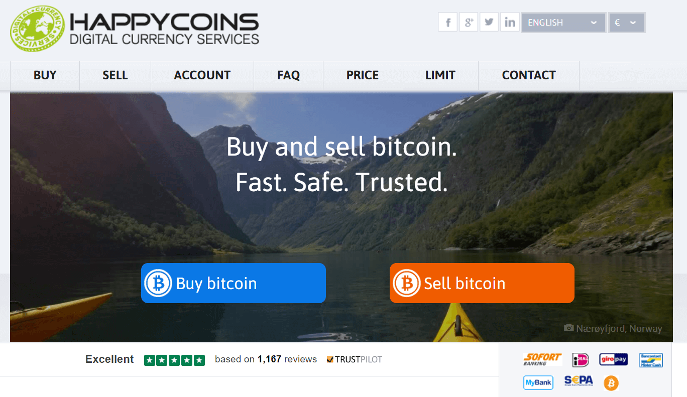 Get BTC at HappyCoins