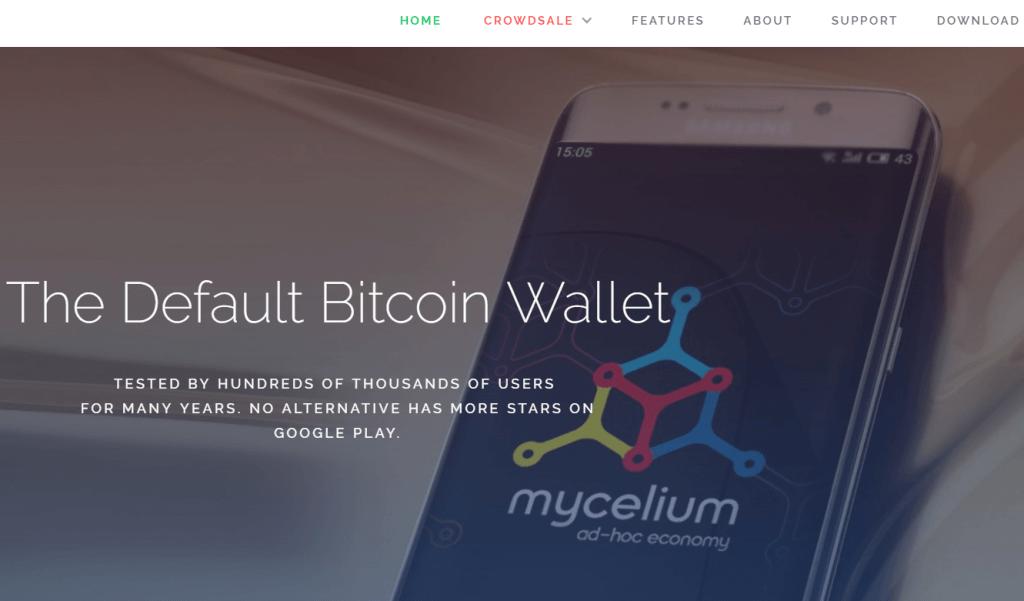 Mycelium bitcoin wallet