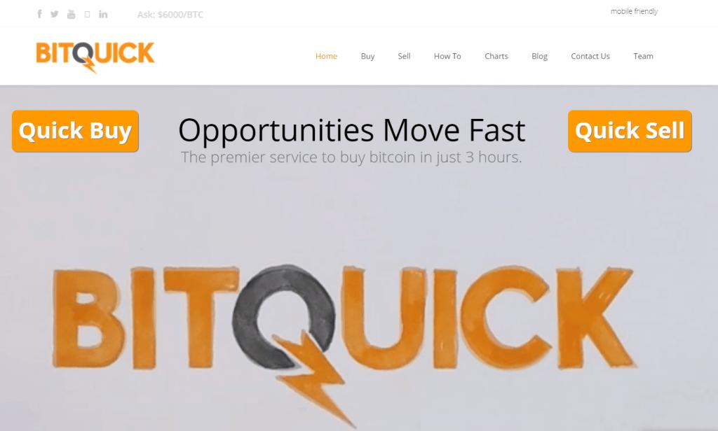 Orders BTC at BitQuick