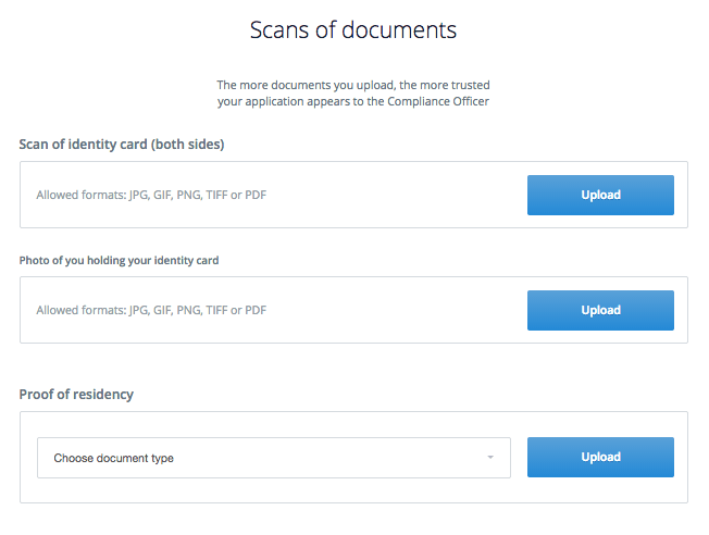 Scans of documents