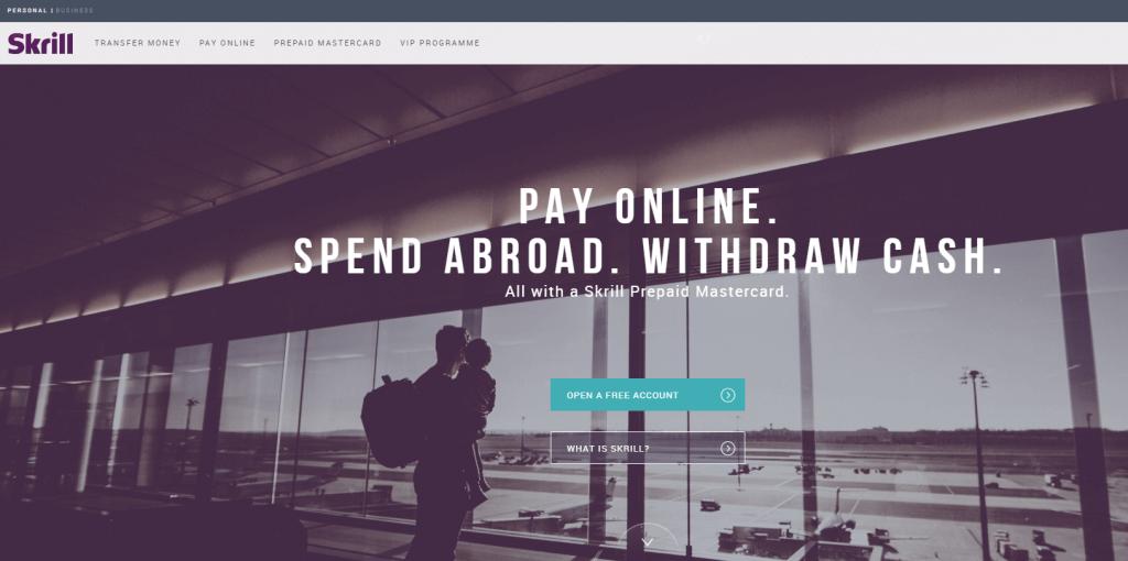 Skrill online payment system
