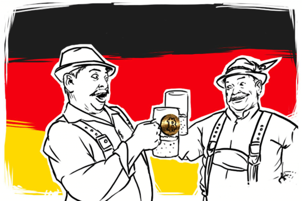 Bitcoin accepted in Germany