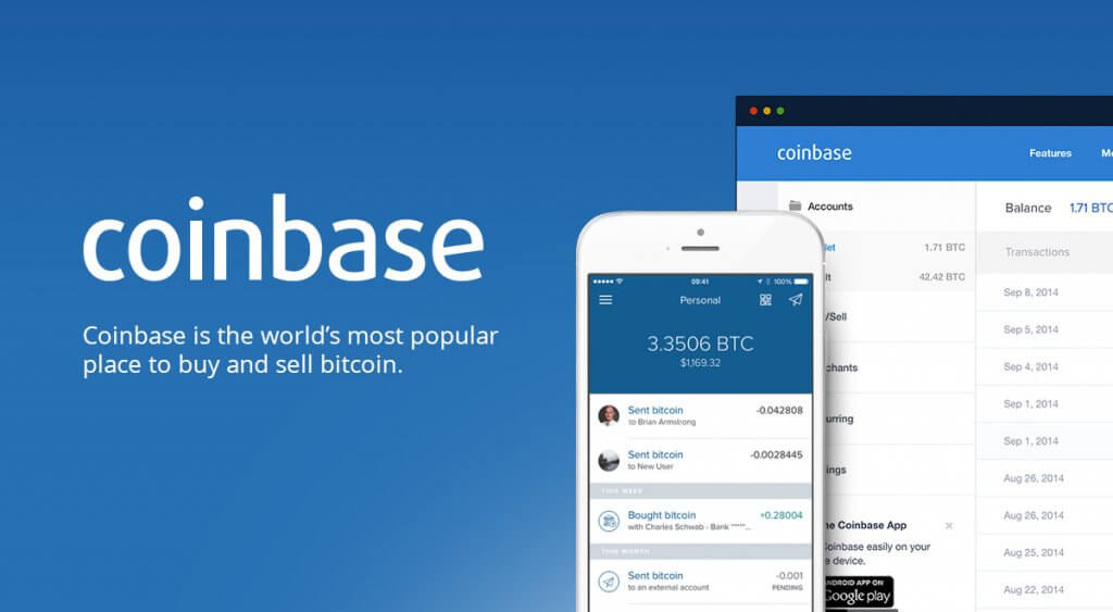 Buy bitcoin at Coinbase exchange