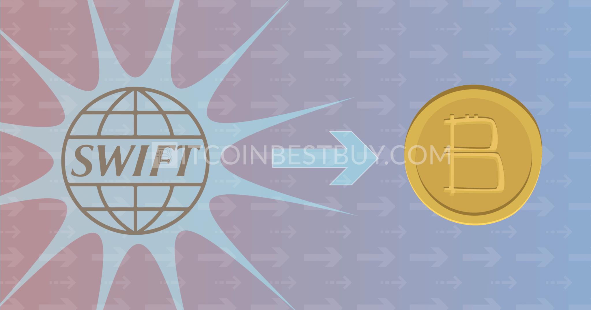 swift bitcoin geriausias brokeris pirkti bitcoin