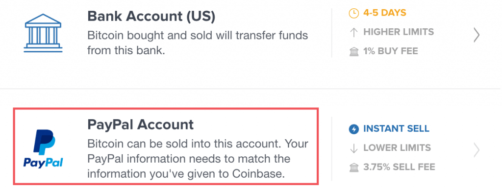 Buy bitcoins with PayPal on Coinbase