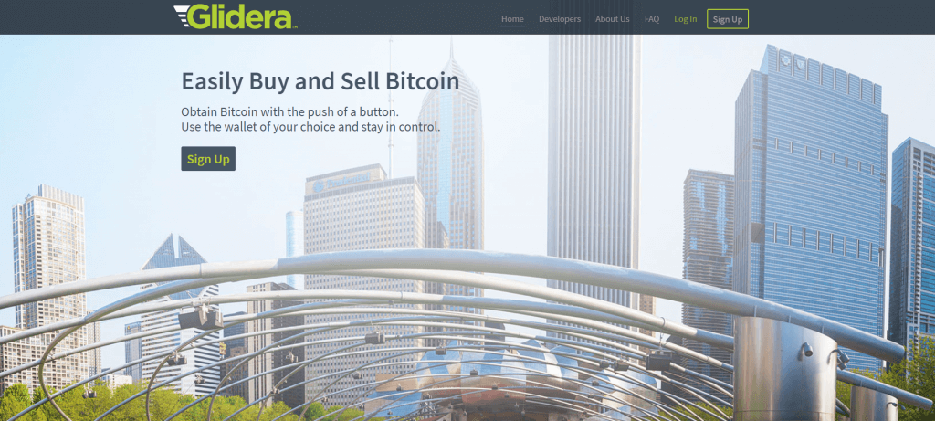 Buy coins at Glidera