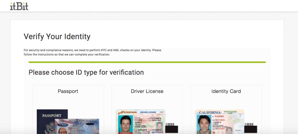 Data verification on itBit