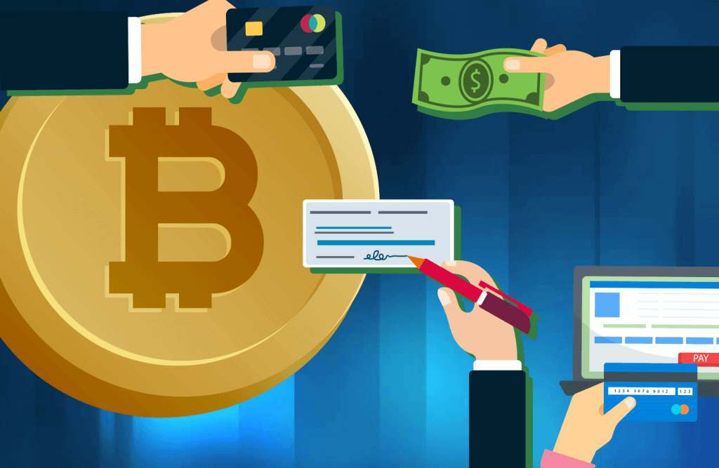 Different ways to pay bitcoins