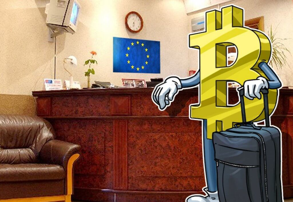 Get bitcoin in Europe via Coinbase