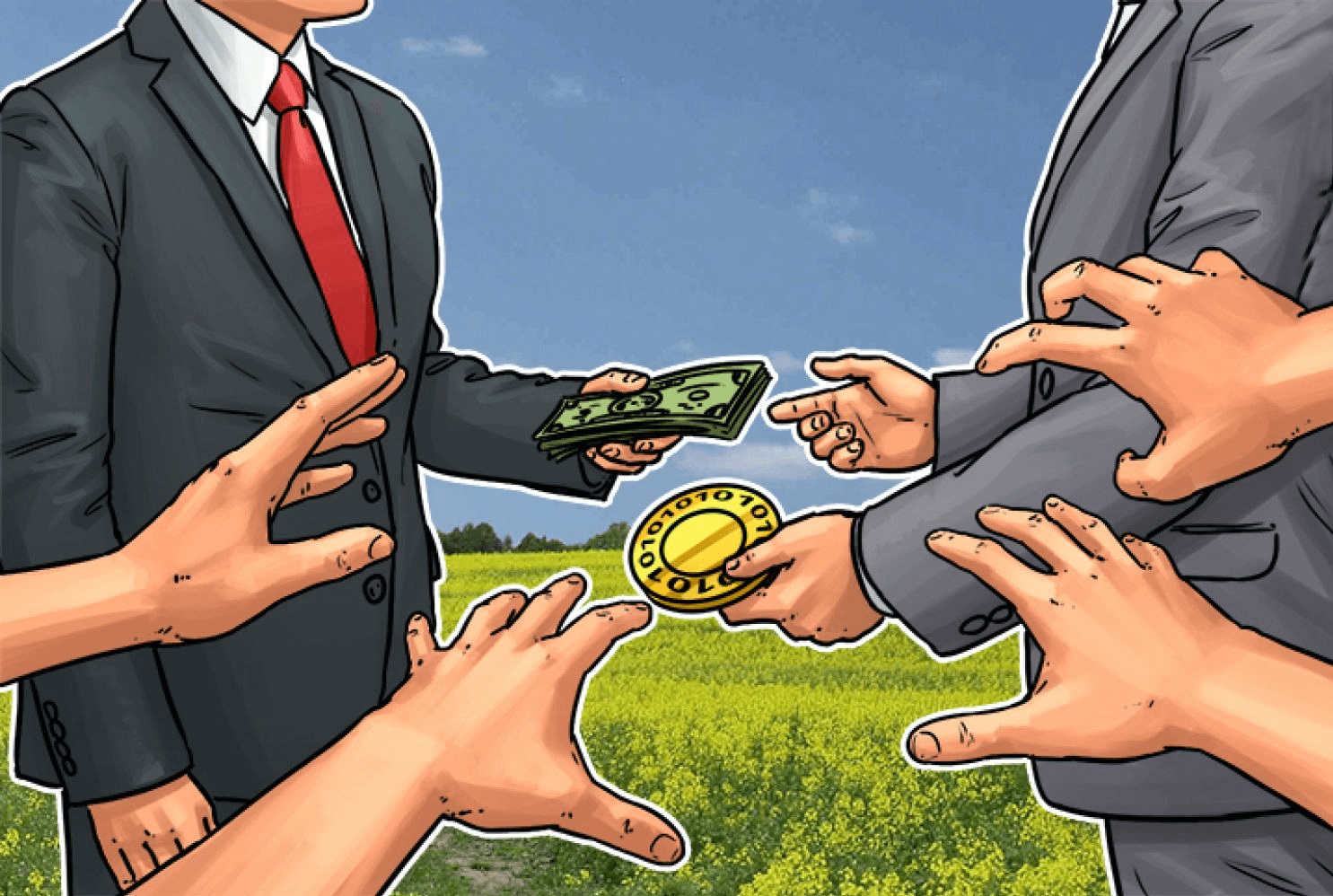 How to buy bitcoin with cash