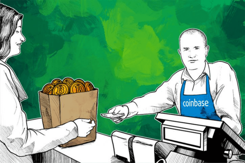 Sell bitcoins on Coinbase