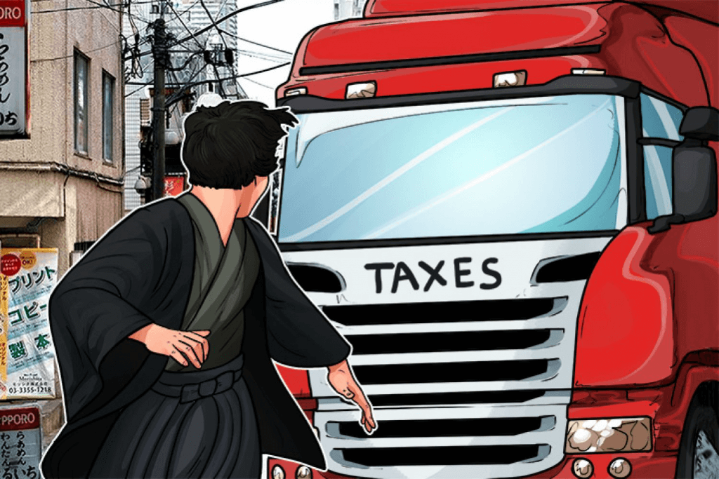Taxes for bitcoin in Japan