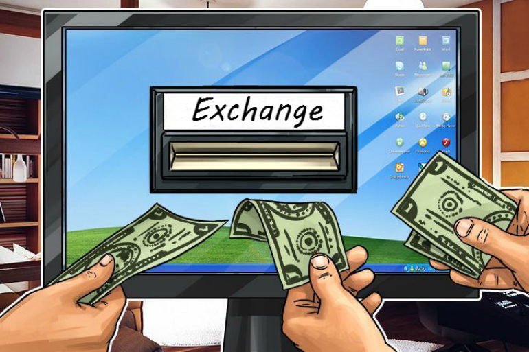 Add money to account on exchange