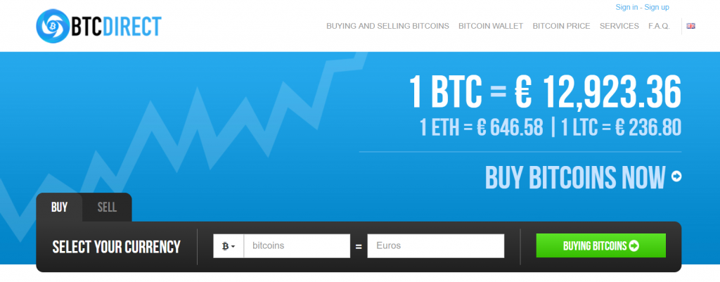 BTC Direct bitcoin exchange