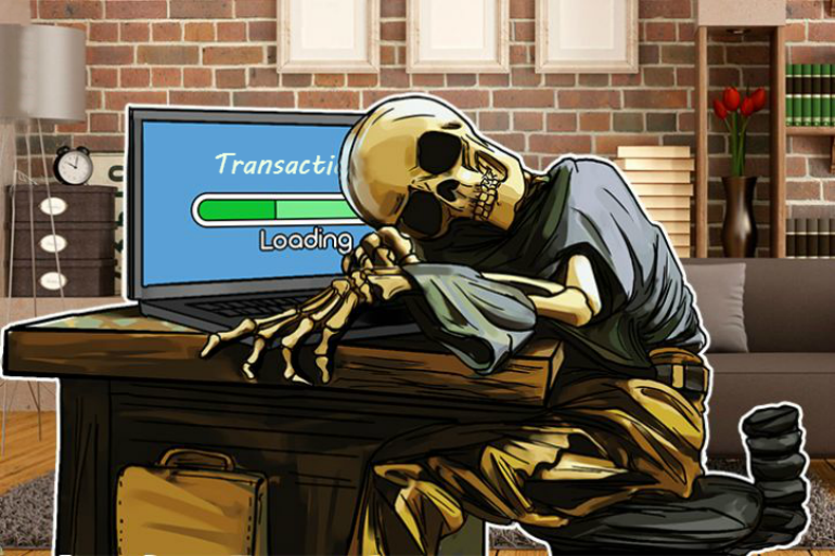 Waiting for transaction at exchange