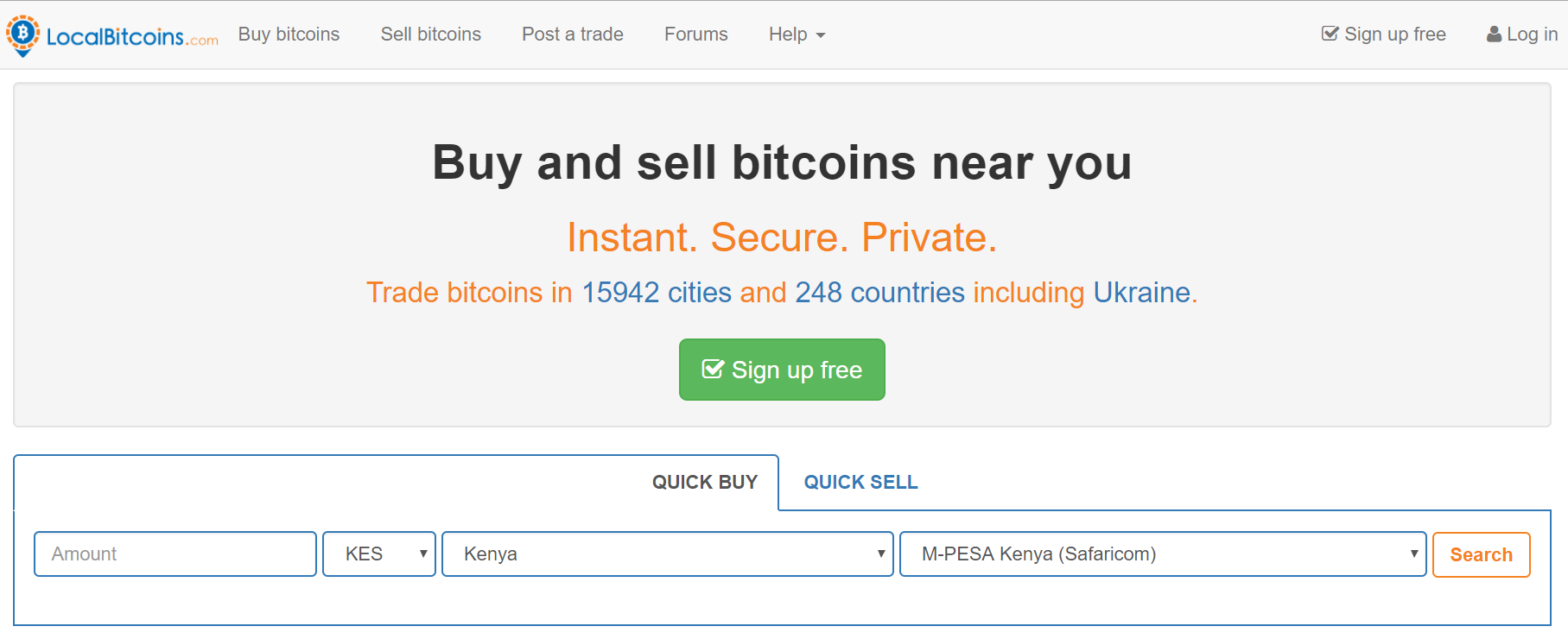 sell from coinbase