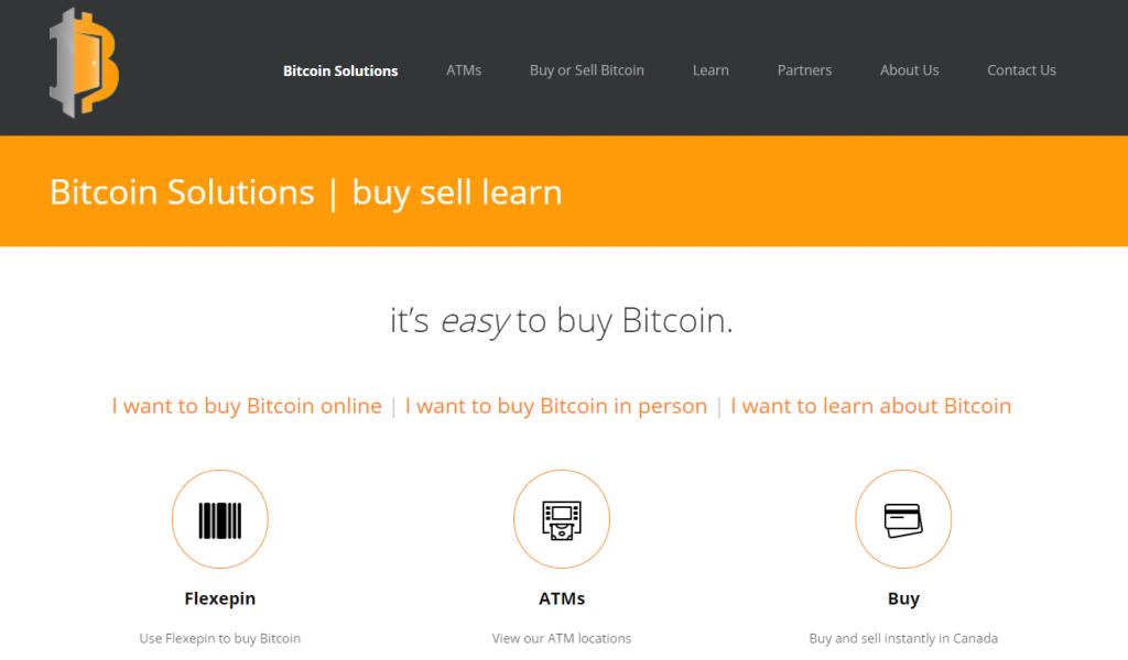 Bitcoin Solutions exchange