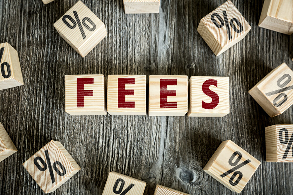 Fees on iDEAL