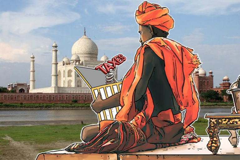 Taxes on bitcoins in India