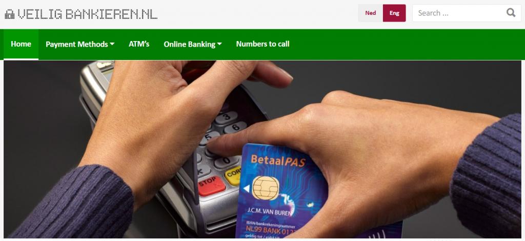 Veilig Bankieren website