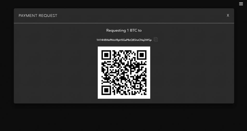 QR code in Jaxx