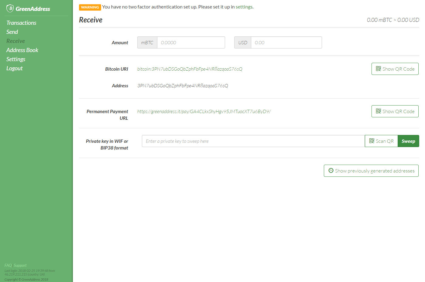What Is GreenAddress and How to Use This Bitcoin Wallet ...