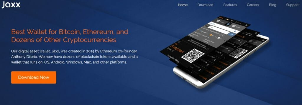 Jaxx bitcoin wallet website
