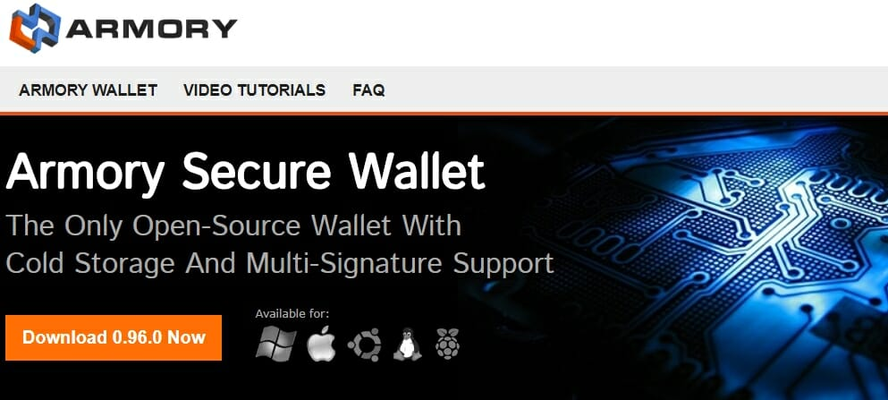 Armory wallet download