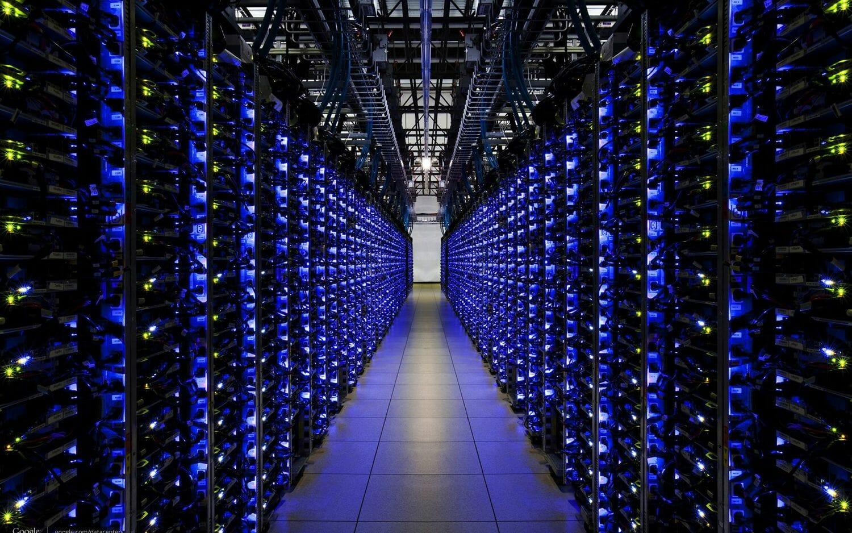 Mining server room