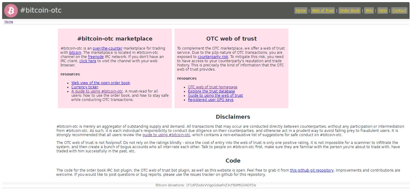 #bitcoin-otc marketplace