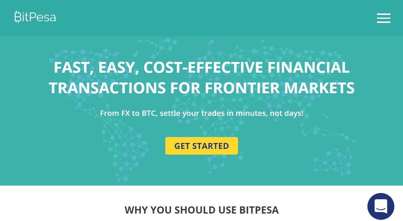 BitPesa main page