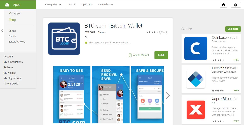 BTC.com apps