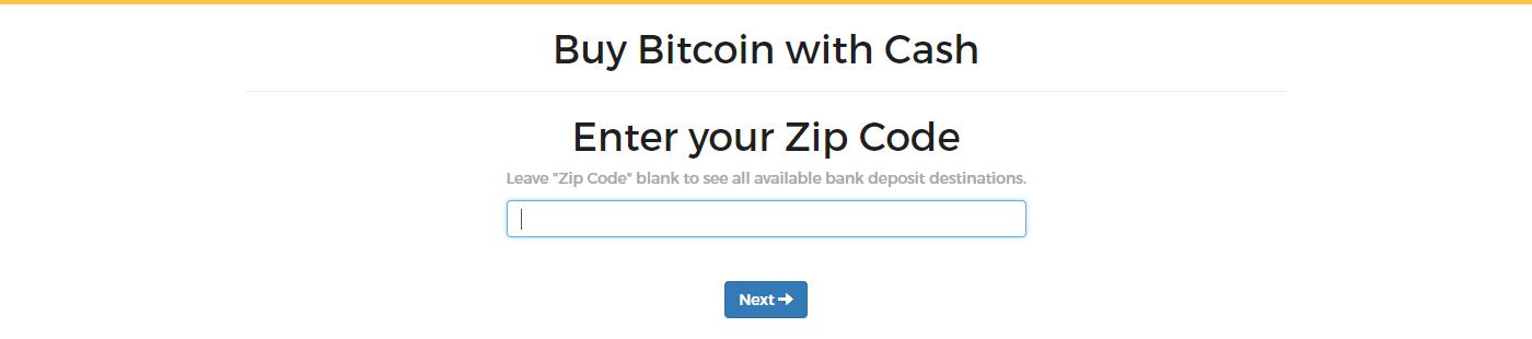 Enter zip code